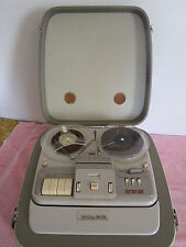 Vintage GRUNDIG TK35 Reel to Reel Player UNTESTED European Plug  WESTERN GERMANY
