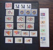 Hungary 1965 2001 issues Stamp Day Xmas Flowers Liberation sets etc MNH