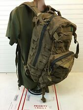 Used USMC Military Issue 3 Day FILBE Coyote Brown Assault Pack 20 Liter - 11