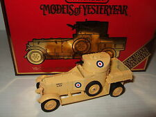 Matchbox Special Edition YS-38, 1920 Rolls Royce Armoured Car Diecast in 1:48.