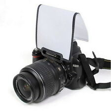 Universal Pop Up Flash Diffuser Soft Screen DSLR Nikon D3100 Canon 500 etc MI