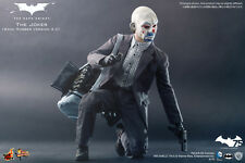 HOT TOYS 1/6 DC THE DARK KNIGHT MMS249 JOKER BANK ROBBER 2.0 ACTION FIGURE AU