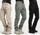 Tactic Military Mens Casual Trousers New Pants Army Camo Cotton Cargo