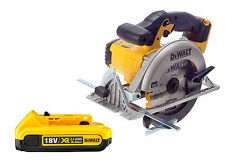 DeWalt DCS391 Lithium Ion XR Circular Saw 18v + 1 DCB183 2.0ah Battery New