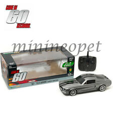 GREENLIGHT R/C RADIO CONTROL GONE IN 60 SECONDS 1967 FORD MUSTANG ELEANOR 1/18 G
