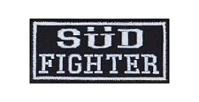 Süd Fighter Biker Patches Aufnäher Rocker Bügelbild Kutte Motorrad Heavy Sticker