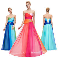 New Long Chiffon Bridesmaid Homecoming Formal Evening Wedding Party Prom Dress