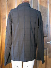Men's Latin ( ballroom dance) shirt raised square patterns beautiful linen L
