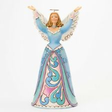 """Jim Shore """"YOU RAISE ME UP"""" Angel With Outstretched Arms ~ NEW ~MIB"""