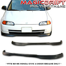 92-95 93 94 Honda Civic 4D EG Type R CTR Front Chin Spoiler Lip 4DR Sedan