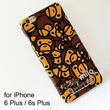 A Bathing Ape Bape Milo Hard Cover Silicone Case For iPhone 6 Plus / 6s Plus