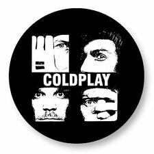 Parche imprimido, Iron on patch, /Textil sticker, Pegatina/ - Coldplay, A