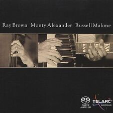 Ray Brown, Monty Alexander & Russell Malone Multichannel Super Audio CD!!!