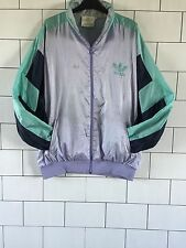 VINTAGE RETRO OLD SCHOOL FESTIVAL 80'S ADIDAS SHELL SUIT JACKET WINDBREAKER #43