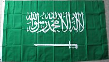 SAUDI ARABIA POLYESTER INTERNATIONAL COUNTRY FLAG 3 X 5 FEET