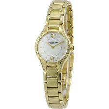 Raymond Weil Noemia MOP Diamond Yellow Gold PVD Steel Ladies Watch 5124-PS-00985
