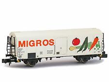 BRAWA 67115-Carrello di raffreddamento UIC standard 1 Migros FS ep. IV-Spur N-NUOVO