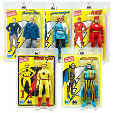 DC Comics Flash Series Mego Style 8 Inch Figures: Set of all 5