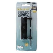 Beadsmith DOUBLE METAL PUNCH 1.5 mm and 2 mm