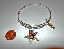 Order of the Eastern Star jewelry- Brooks Bangle Bracelets-NEW #15164