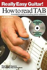 Really Easy Guitar! How to Read TAB - A Complete Guide to Reading Guit 014026997