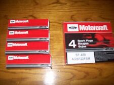 Motorcraft SP459 Spark Plugs AGSF22FSM Set of 4  NOS Free Shipping