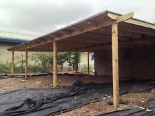 Wooden 10m X 6m Pergola,car Port, With Or Without Polycarbonate. Built To Order