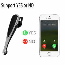 Handsfree A2DP Bluetooth Headset Earphone For Samsung Galaxy S7 S6 Edge Note 5 4