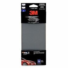 3M 03003 Imperial Wetordry 3-2/3' x 9' 2000 Grit Automotive Sandpaper