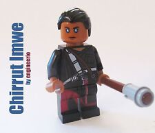 LEGO Rogue One Star Wars Chirrut Imwe mini figure 75152 Custom