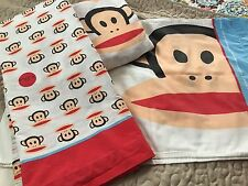 Paul Frank Full size bed sheets and 2 pillowcases