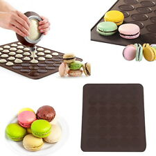 Silicone Macaron Macaroon Pastry Cake Cookies Muffin Oven Baking Sheet Mat Mould