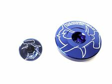 Hammerhead Designs ENGINE PLUGS BLUE KX250F  11-13 KX450F  09-13