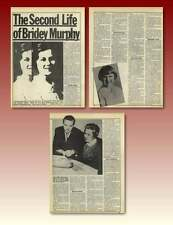 The Second Life Of Bridey Murphy Morey Bernstein 1952 Virginia Tighe Old Article