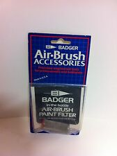 Badger Air-Brush Accesories 50-2016 InJar Airbrush-Farbenfilter Geflechtschlauch