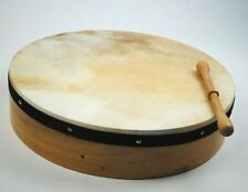 """Irish 16"""" Bodhran Drum with Free Beater Natural Skin Made by Prokussion"""