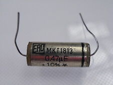 ERO MKT1813 0.047uF =47nF 630V Vintage Non Polarised Capacitor Audio Filter EK09
