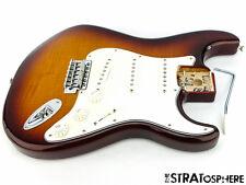 Fender Stratocaster Flame Top Strat LOADED BODY Stratocaster  Tobacco Sunburst