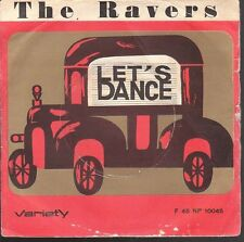 12164  THE RAVERS  LET'S DANCE