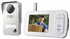 Smartwares VD38W Funk Videotürsprechanlage Gegensprechanlage