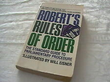 Robert's Rules of Order : The Standard Guide to Parliamentary Procedure PB