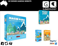 Machi Koro Deluxe Edition includes Harbor and Millionaire۪s Row expansion Board