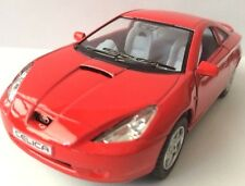 "1/34 Toyota Celica Diecast Metal Model Car 5"" Kinsmart Collectable RED New"