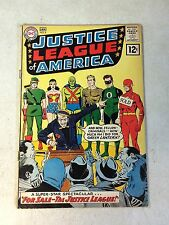 JUSTICE LEAGUE of AMERICA #8 FLASH GREEN LANTERN WONDER WOMAN 1961 GREEN ARROW