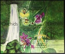 A076 DOMINICA 2007 Flowers, Orchids Minisheet mint NH