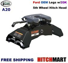 20K CURT 5TH WHEEL TRAILER HITCH w OEM COMPATIBLE LEG FOR FORD w/ TOW PREP 16034