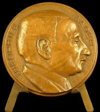 Médaille Théophile Bader fondateur des Galeries Lafayette officier Légion medal