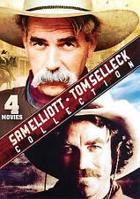 Sam Elliott/Tom Selleck Collection (DVD, 2013) 4 MOVIES, NEW