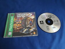 TWISTED METAL 2 Playstation game COMPLETE! Tested & Works PS1 PS2