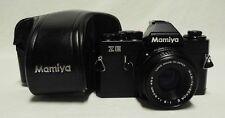 Vintage MAMIYA 'ZE' 35mm SLR Film Camera w/2.0 50mm E Lens & Case ZE N211407